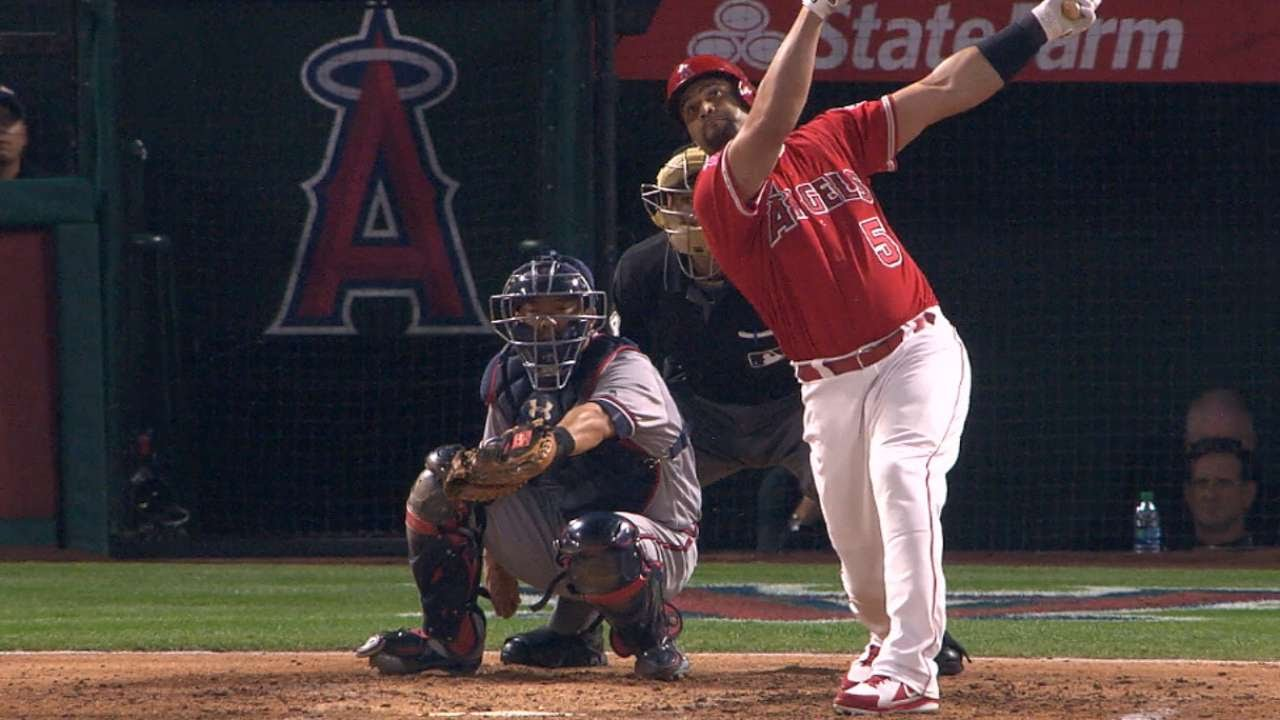 Albert Pujols Passes Babe Ruth on All-Time Hits List
