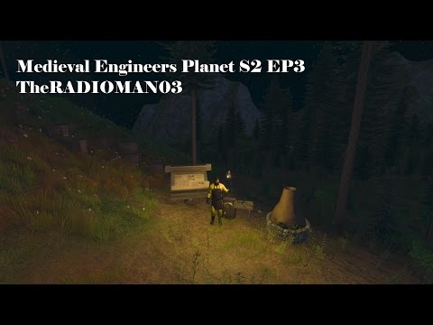 "Medieval Engineers Planet S2 EP3 ""Smithy/Furnace"""