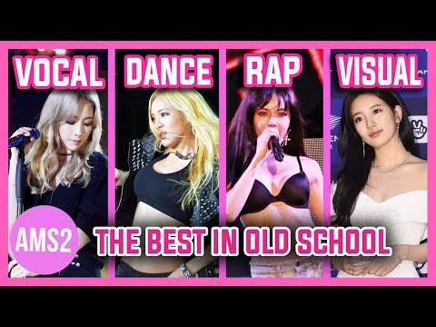 BEST MAIN VOCAL, DANCER, RAPPER & VISUAL IN GIRLS GROUPS (OLDS GENERATIONS) - WITH KPARADAISE