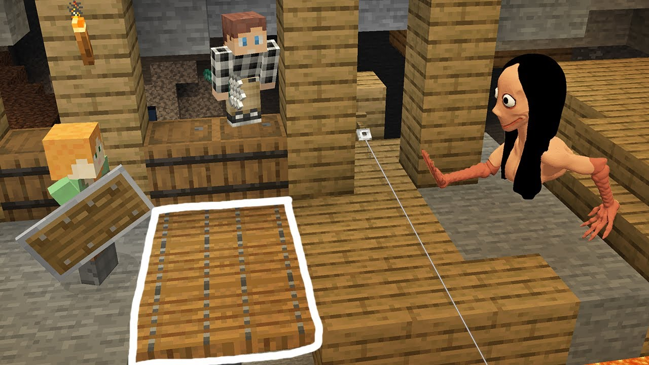 Download Online Traps for MOMO in minecraftBy Scooby craft