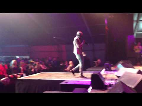 The System (Live)   Afro Latino Festival 2013   Popcaan (ft. Dub Akom Band)