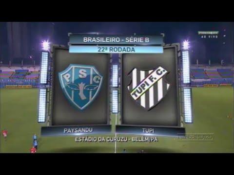 22º Rodada Brasileirão 2016 | Série B | Paysandu 0x3 Tupi-MG | Melhores Momentos