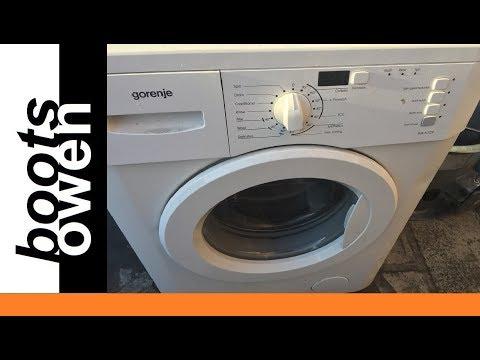 Cleaning Gorenje Wa60129 Filter Youtube
