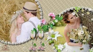 Бесплатный проект ProShow Producer:Свадьба в стиле РУСТИК-Wedding in rustic style