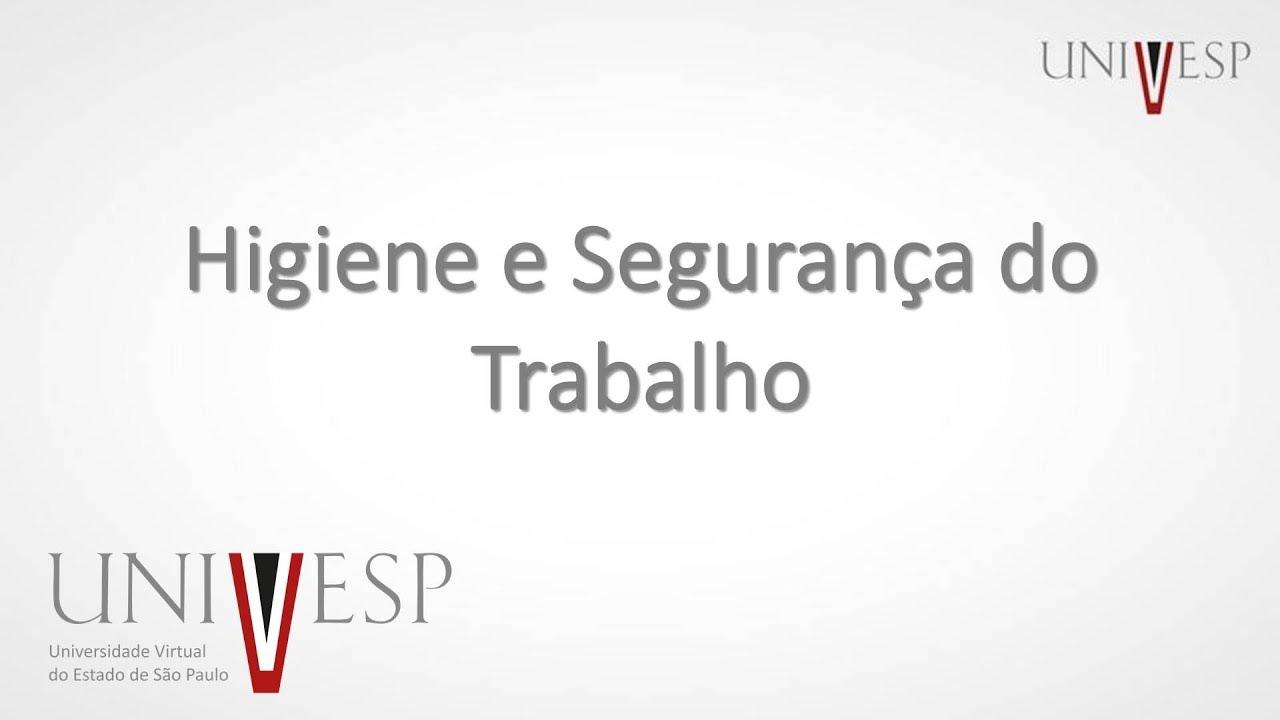Higiene e Segurança do Trabalho - Aula 01 - Terminologia - YouTube 9041be4752