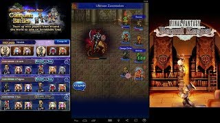 Final Fantasy Record Keeper - Multiplayer Apocalypse+ Odin
