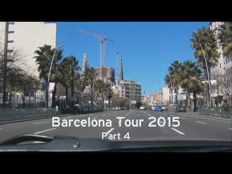 [E] Barcelona Tour 2015, Part 4: C-31 - Gran Via - Marina - Diagonal