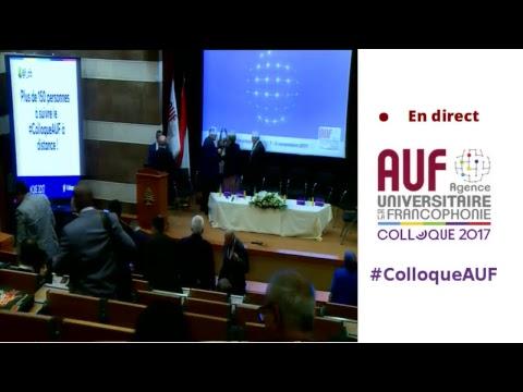 Suivez en direct la cérémonie d'ouverture du #ColloqueAUF