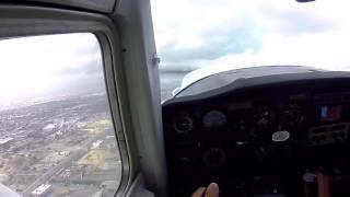 航空留学 ソロフライト ロングビーチ空港 SOLO FLIGHT  KLGB  CESSNA C152