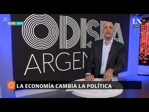 """Editorial de C.Pagni """"La economía cambia la política"""", en """"Odisea Argentina"""" - 02/04/18"""