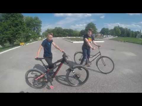 Что такое двухподвес? Лютый навал на велосипедах. Downhill Bike.