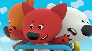 BE BE BEARS | Episode 42 | roller coaster HD Cartoons for kids | Kedoo ToonsTV