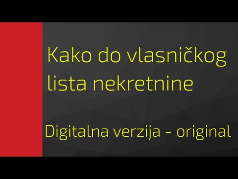 🔵 Posting the Ownership List, VERIFIED DIGITAL VERZIJA Maris real estate agency from YouTube · Duration:  5 minutes 42 seconds