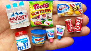 21 DIY MINIATURE FOOD AND DRINKS REALISTIC HACKS AND CRAFTS FOR BARBIE DOLLHOUSE !!!