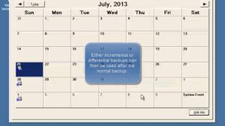 Task Scheduler - Scheduled Backup (Windows Server 2003)