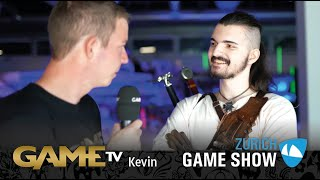 Game TV Schweiz - Interview mit Kevin Münger (Zürich Game Show)