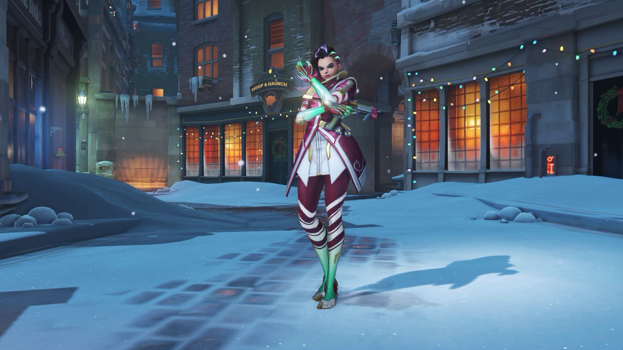 Overwatch christmas animated wallpaper sombra 1440 - Overwatch christmas wallpaper ...