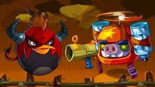 Энгри Бердс ЭПИК #129 ЗЛЫЕ ПТИЧКИ - пещера Angry Birds и Bad Piggies - игра про мультик #КРУТИЛКИНЫ