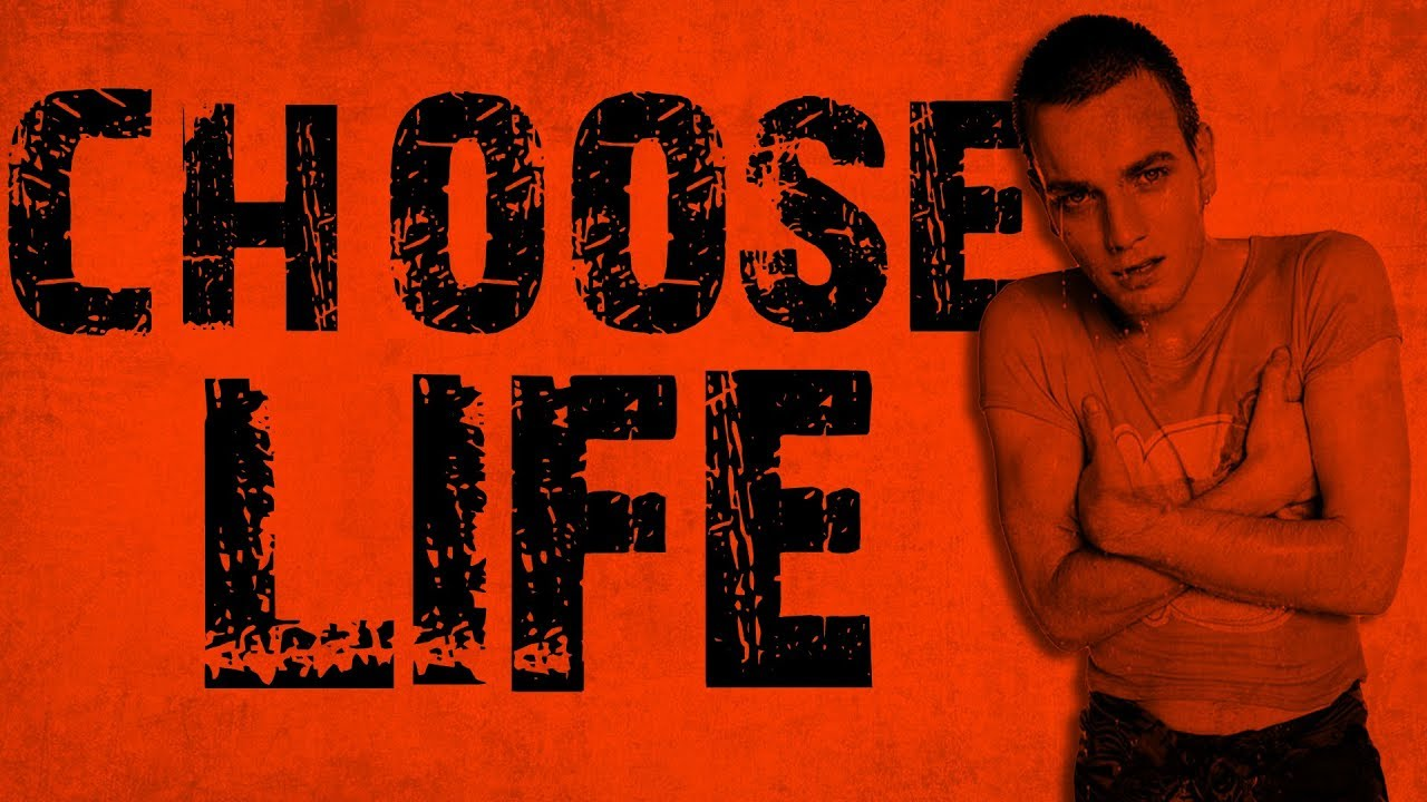 Choose Life Trainspotting Kinetic Typography Youtube