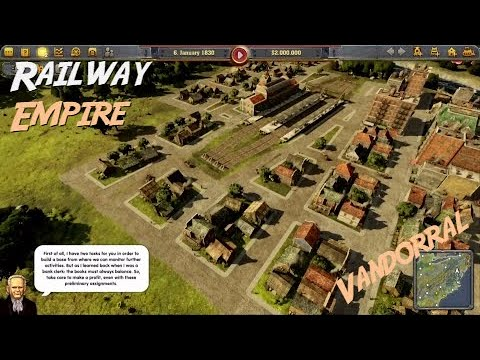 Railway Empire Vandorral [HUN/Magyar]