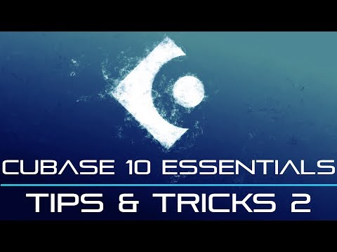 Cubase 10 and 9 – Tips And Tricks Part 2 – Super Helpful!