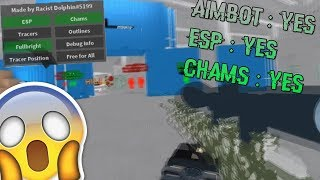 Roblox Exploiting #47 - PHANTOM FORCES WALL HACK!