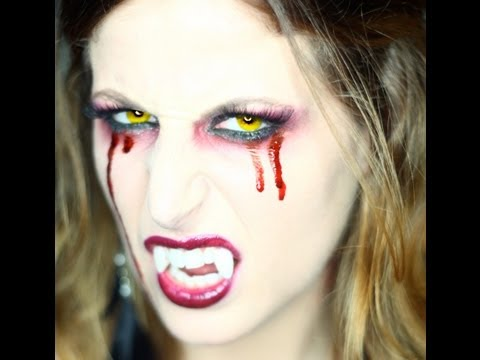 Makeup Tutorial Trucco Halloween Sexy Vampira