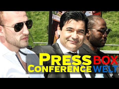 Mario Daser vs Ola Afolabi - SECOND PRESS CONFERENCE - 15.05.2017 - Hamburg