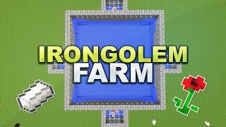 Minecraft - Iron Golem Farm - Tutorial 1.11
