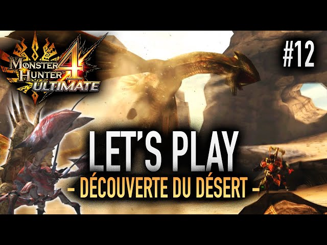 L'HERMITAUR TAPE SI FORT - #12 Let's Play MH4U HD