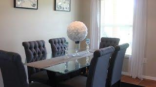 DIY Kitchen/Dining Room Decor | Canvas Paintings & Flower Centerpieces | Dollar Tree DIY