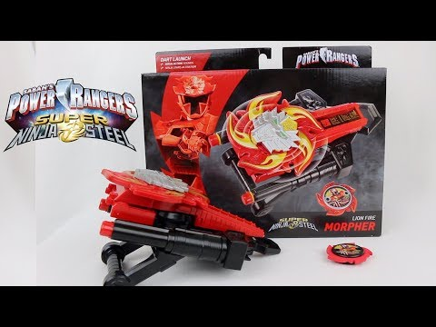 Lion Fire Morpher Review [Power Rangers Super Ninja Steel]