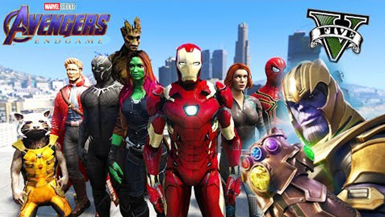 AVENGERS ENDGAME GTA V MOD! Will Thanos Live?! Facebook