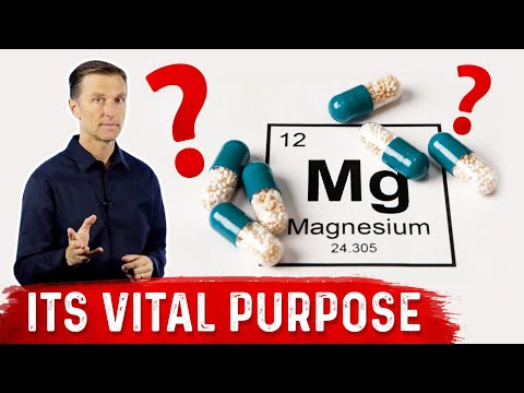 The Important Unknown Purpose of Magnesium