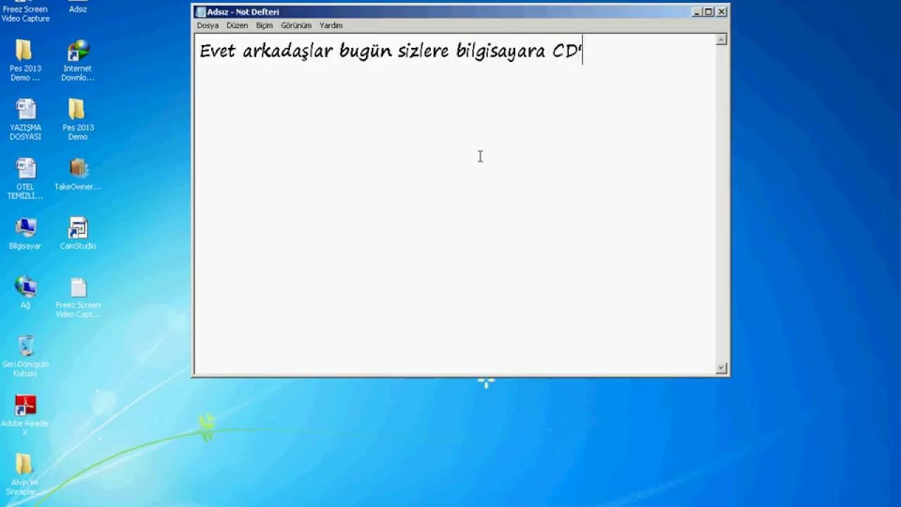 Windows 7 format atmak resimli videolu anlatım play bi̇lgi̇sayar.