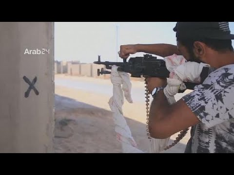Clashes between rival groups in Libyan capital