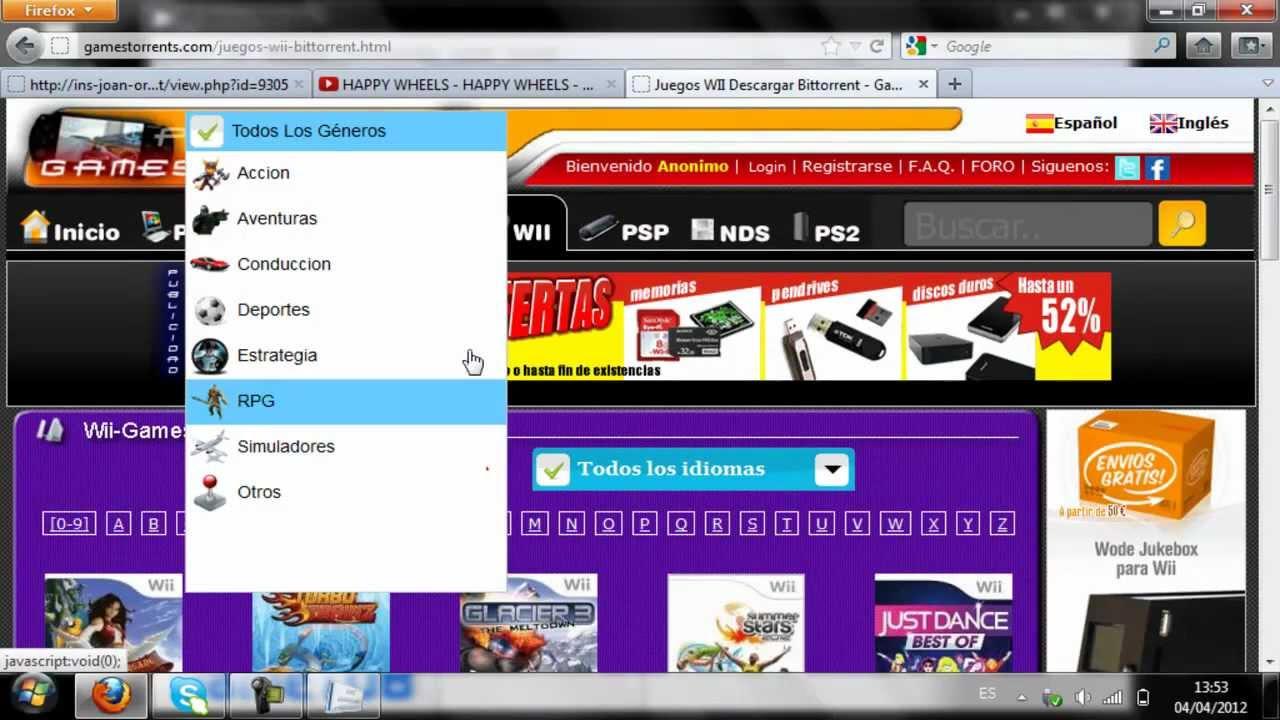 Pon Juegos A Tu Tarjeta Sd A Wii En Formato Wbfs Wiikey Fusion Youtube