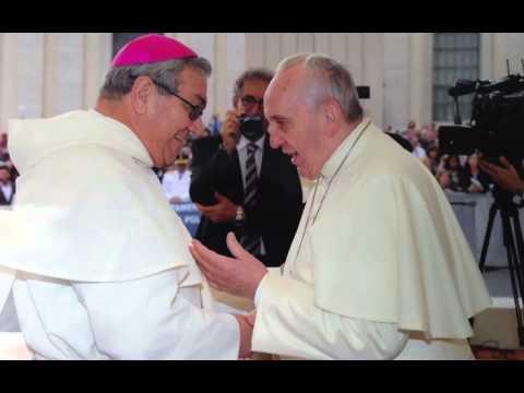 Visita de Monseñor Jorge Leonardo Gómez al Vaticano