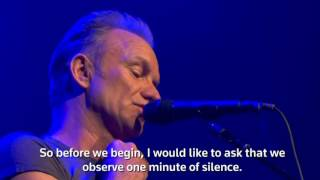 Sting performs at Paris' Bataclan music hall(VIDEO: REUTERS., 2016-11-13T01:55:30.000Z)