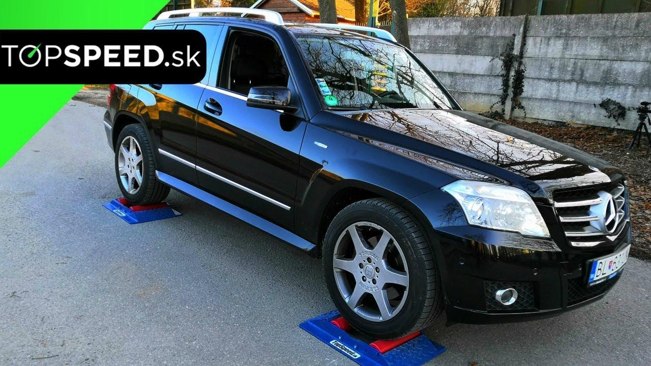 7888c89ff9d Mercedes GLK 220CDi 4matic 4x4 test - TOPSPEED.sk - YouTube