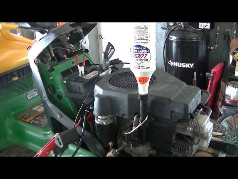 Lucas Oil Stabilizer Knocking Engine Experiment