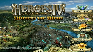 Heroes of Might and Magic  4 gameplay (PC Game, 2002)