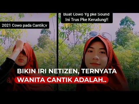Bikin Iri Netizen, Ternyata Wanita Cantik Berjilbab Ini Adalah Pria