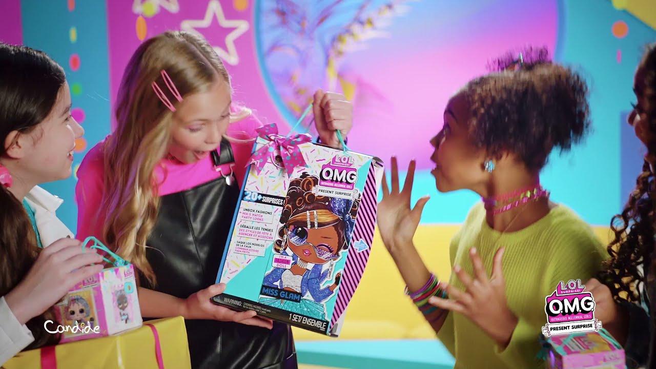 LOL Surprise | OMG Present Surprise - Candide Brinquedos