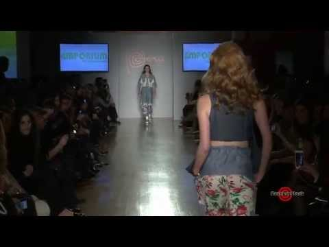 Emporium Pre-Fall 2015 - Runway Fashion Show by Jorge Louis Salinas at Peru Moda event in NYC