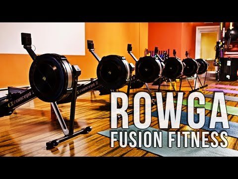 Rowga | Rowing & Yoga Workout | Fusion Fitness