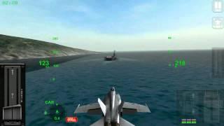 Android Flight Simulator - F18 Carrier Landing Lite