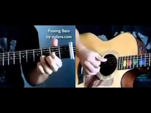 Pusong Bato guitar lesson - YouTube