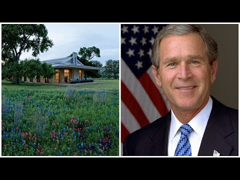★ Inside Laura and George W  Bush's Subtly Rustic Texas Ranch Getaway | HD