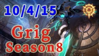 TSM Grig Camille Jungle vs Evelynn Patch 8.19